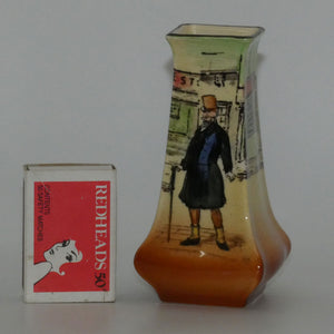 Royal Doulton Dickens Mr Micawber small flaired vase