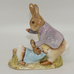 Beswick Beatrix Potter Mr Benjamin Bunny and Peter Rabbit BP3b
