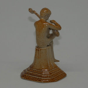 Doulton Lambeth figure by George Tinworth Merry Musician #1