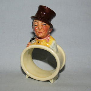 M60-61 Royal Doulton Dickens Tony Weller & Sam Weller napkin rings in original box