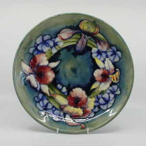 William Moorcroft Orchid 784/12 large plate