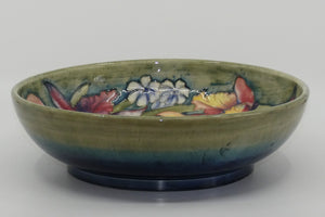 William Moorcroft Orchid large deep bowl (Green)