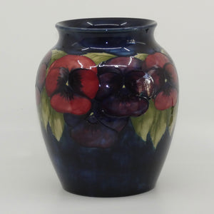 William Moorcroft Pansy 89/8 vase