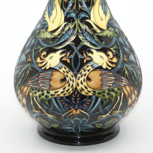 Moorcroft Peacocks and Dragons 80/16 vase (Num Ed)
