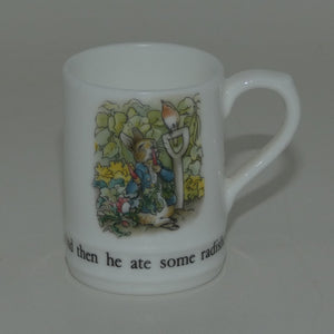 Wedgwood Bone China | Peter Rabbit miniature tankard (boxed)