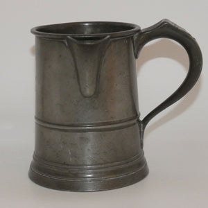 19th Century Pewter Quart Measure