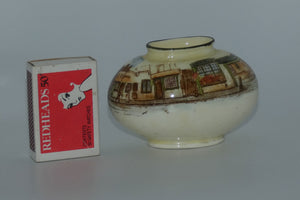 Royal Doulton Dickens Mr Pickwick miniature oval vase