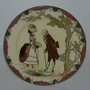 Royal Doulton Wedlock pattern rack plate
