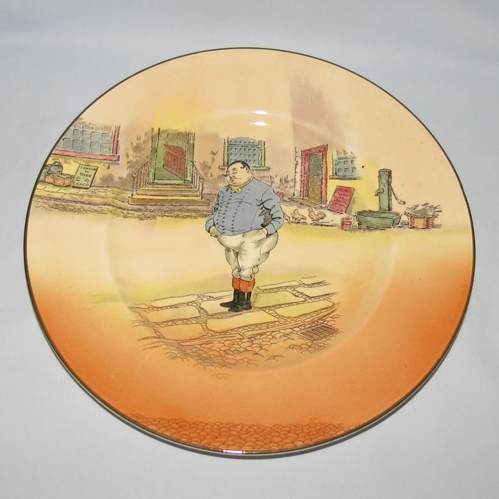 Royal Doulton Dickens Fat Boy rack plate D6327