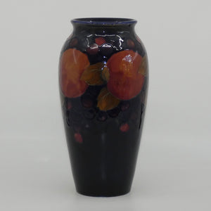 William Moorcroft Pomegranate 393/10 vase (Triple and Open Pomegranate)