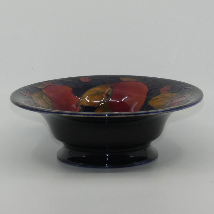 William Moorcroft Pomegranate footed bowl Shape 80