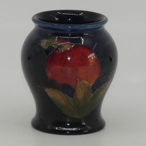 William Moorcroft Pomegranate miniature bulbous vase