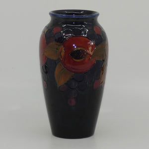 William Moorcroft Pomegranate slender shape vase (Open Pomegranate)