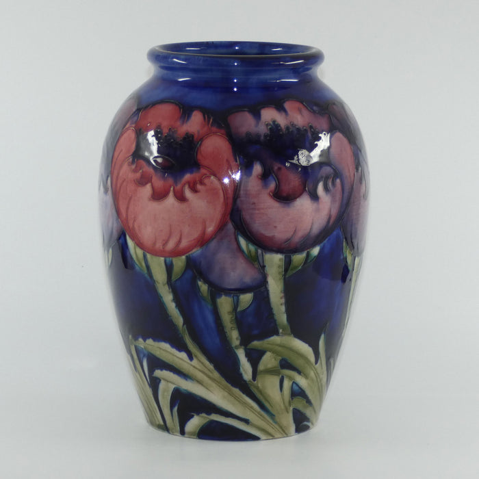 William Moorcroft Poppies 276/9 vase (Large Poppies)