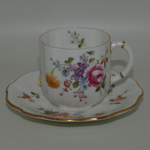 Royal Crown Derby Derby Posies coffee duo