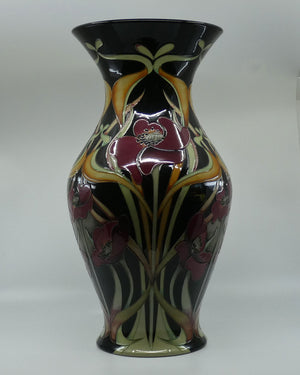 Moorcroft In Praise of Poppies 226/18 Prestige Vase (Num Ed)
