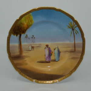 Royal Doulton hand painted Middle East plate (Price)