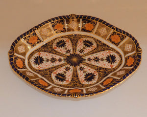 Royal Crown Derby Old Imari quatrefoil dish