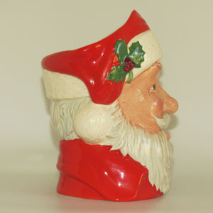 D6690 Royal Doulton large character jug Santa Claus | Sack handle