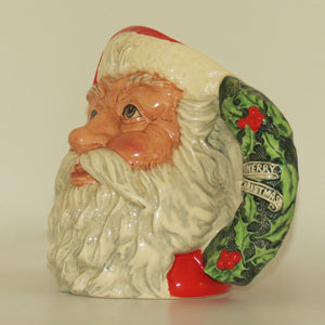 D6794 Royal Doulton large character jug Santa Claus | Holly Wreath