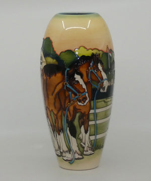 Moorcroft The Showground 101/12 vase (Ltd Ed)
