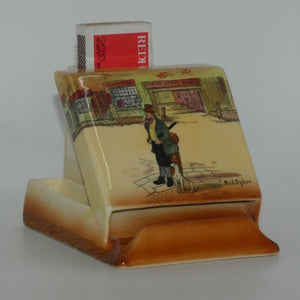 Royal Doulton Dickens Bill Sykes & Mr Pickwick cigarette dispenser D5175
