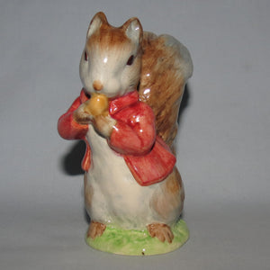 Beswick Beatrix Potter Timmy Tiptoes BP2a (Red Jacket)