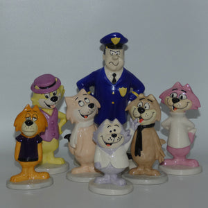 Beswick Top Cat and Friends set of 7 figures (Ltd Ed)