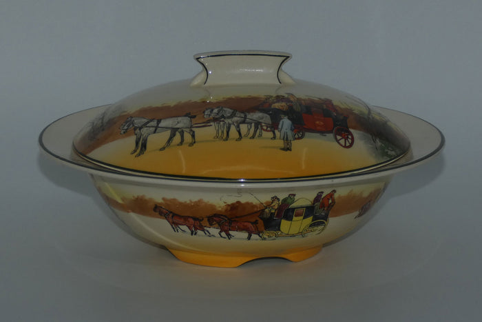 Royal Doulton Coaching Days Art Deco lidded tureen (#1)