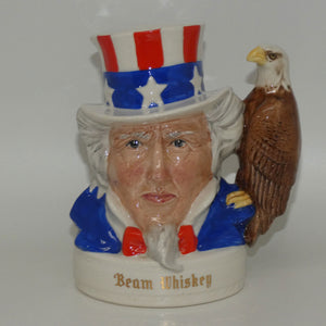 D- Royal Doulton small character jug Uncle Sam