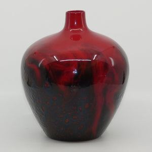 Royal Doulton Flambe Veined 1616 vase #1