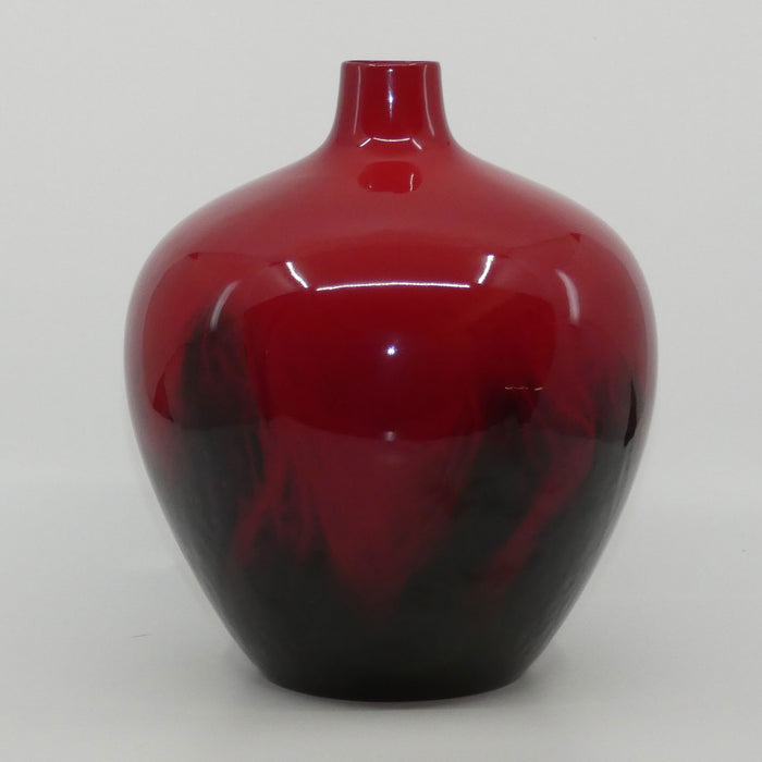 Royal Doulton Flambe Veined 1616 vase #2
