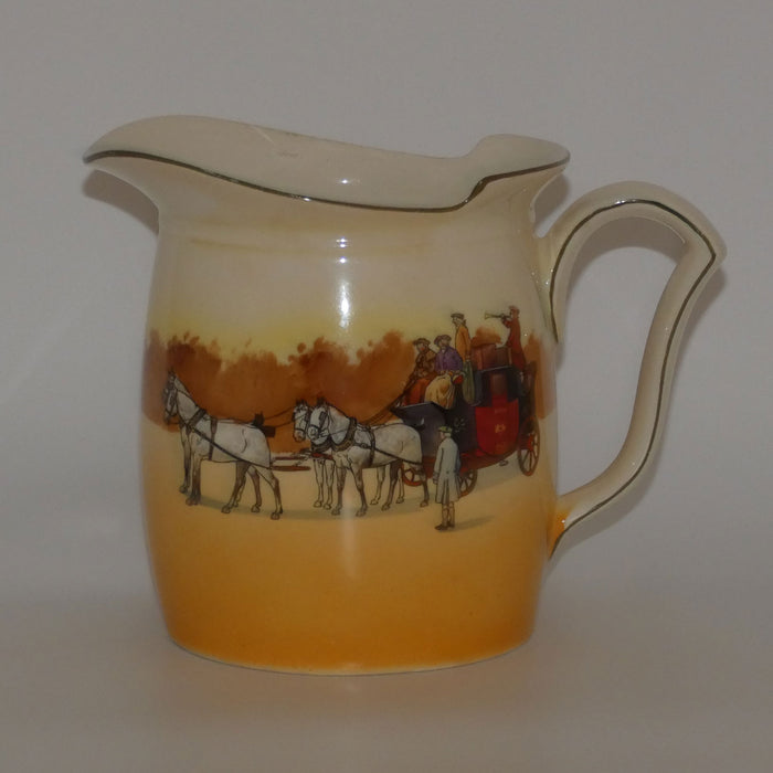 Royal Doulton Coaching Days Westcott shape Large jug