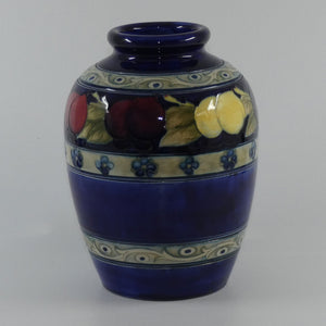 William Moorcroft Banded Wisteria vase 216/6 (Three Bands)