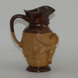 X6365 Doulton Lambeth stoneware Toby XX toby jug (Hand holds jug of Ale)