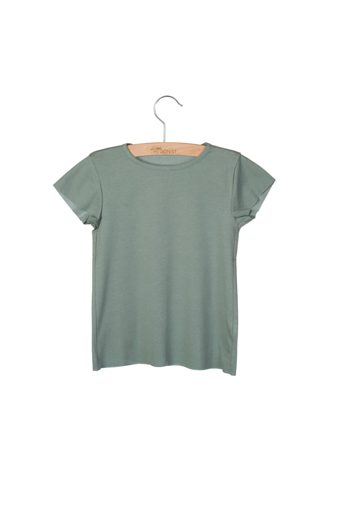 Little Hedonist Dean T-Shirt Chinois Green
