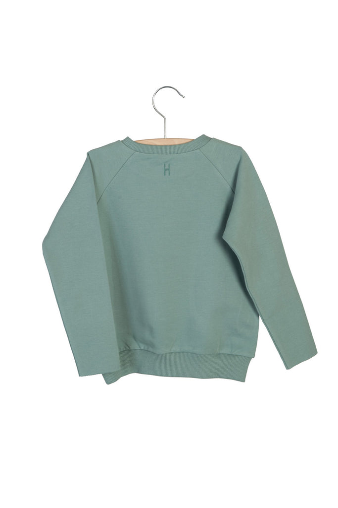 Little Hedonist WE ARe THE FUTURE Sweater - Chinois Green