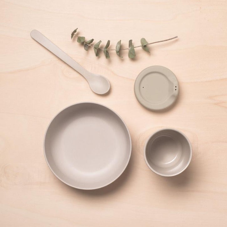EKOBO Baby Feeding Set - Cloud