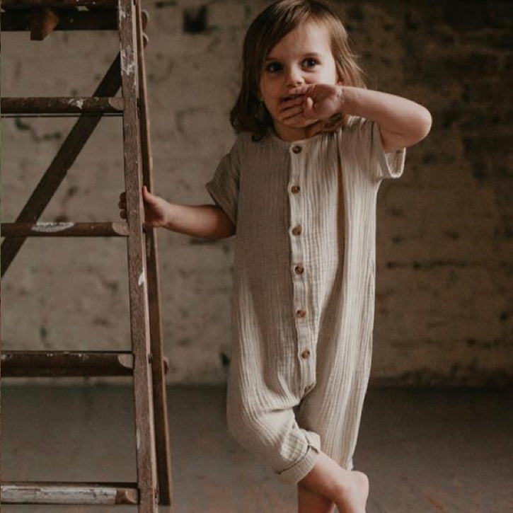 The Simple Folk Archer Playsuit