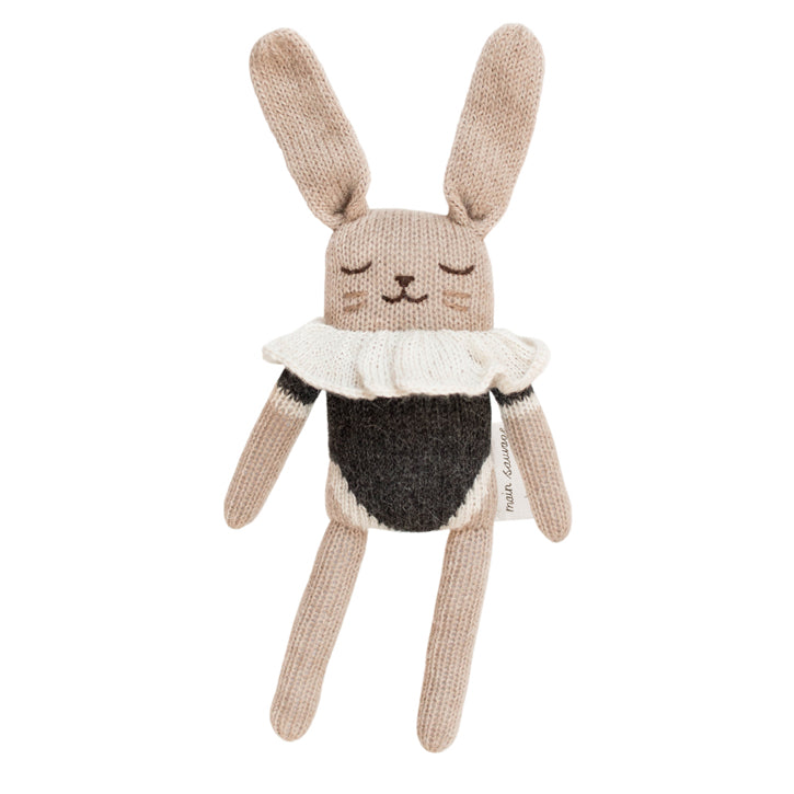 Main Sauvage Bunny - Black Bodysuit