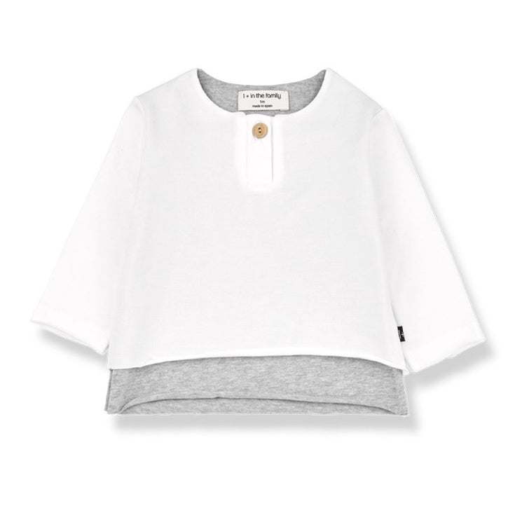 Anton Long Sleeve T-Shirt White