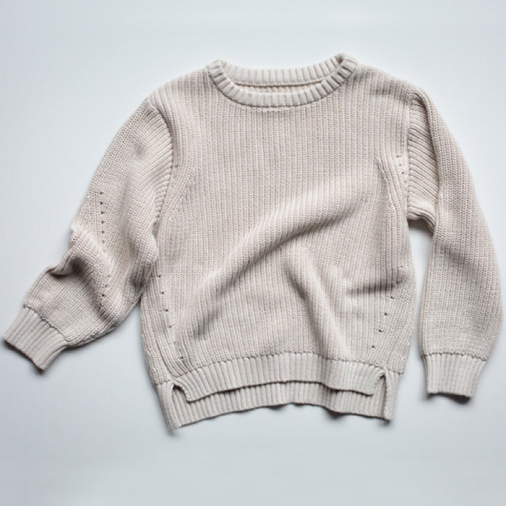 The Simple Folk Essential Sweater - Oatmeal
