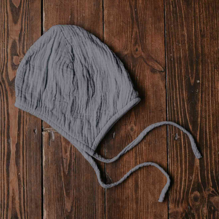 The Simple Folk Garden Bonnet - Lead Gray