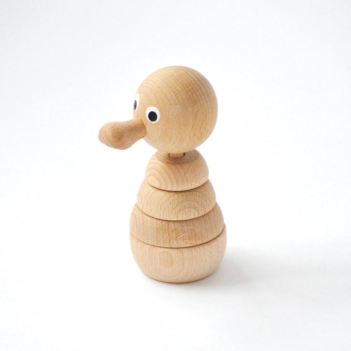 Odette - Wooden Duck Stacker