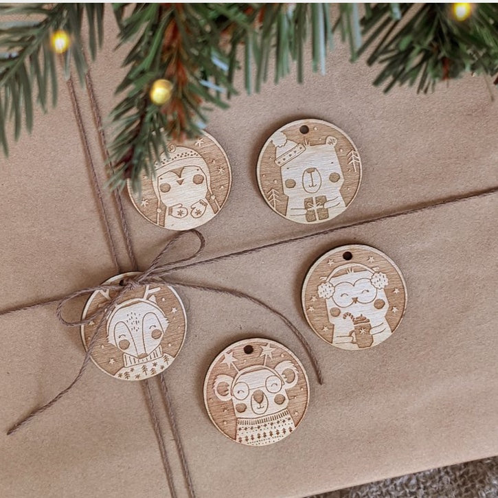 Paper & Bean Gift Tags