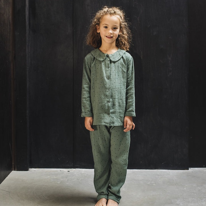Muslin Button Down Pyjamas