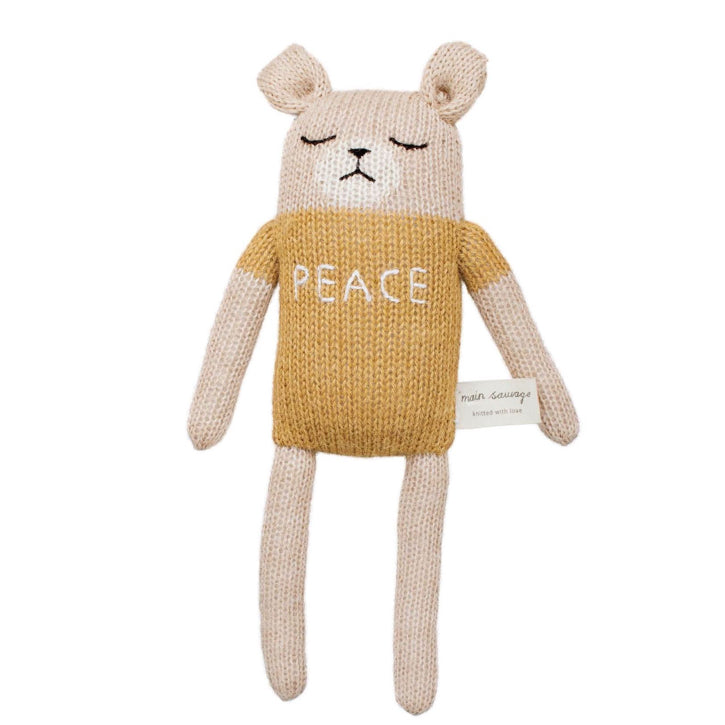 Main Sauvage Peace Teddy
