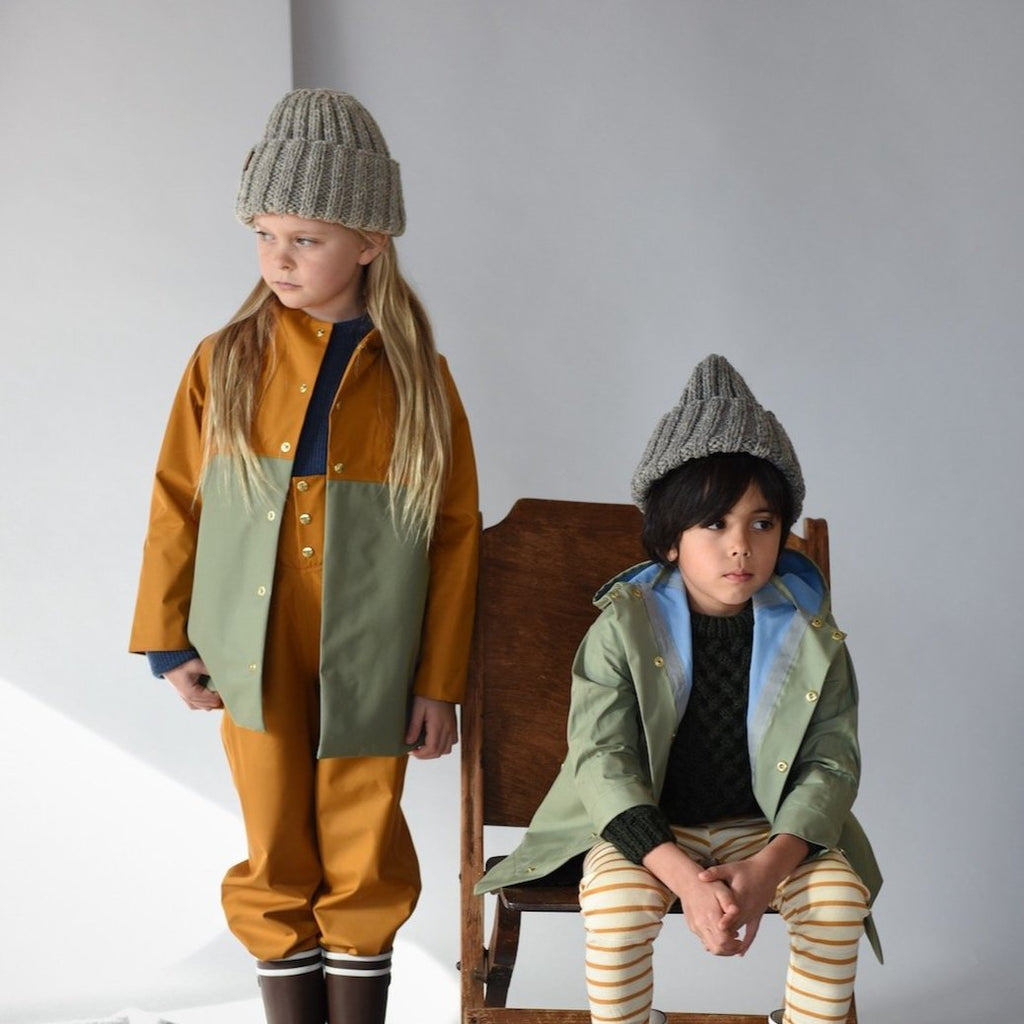Faire Child Anorak - Acorn/Balsam