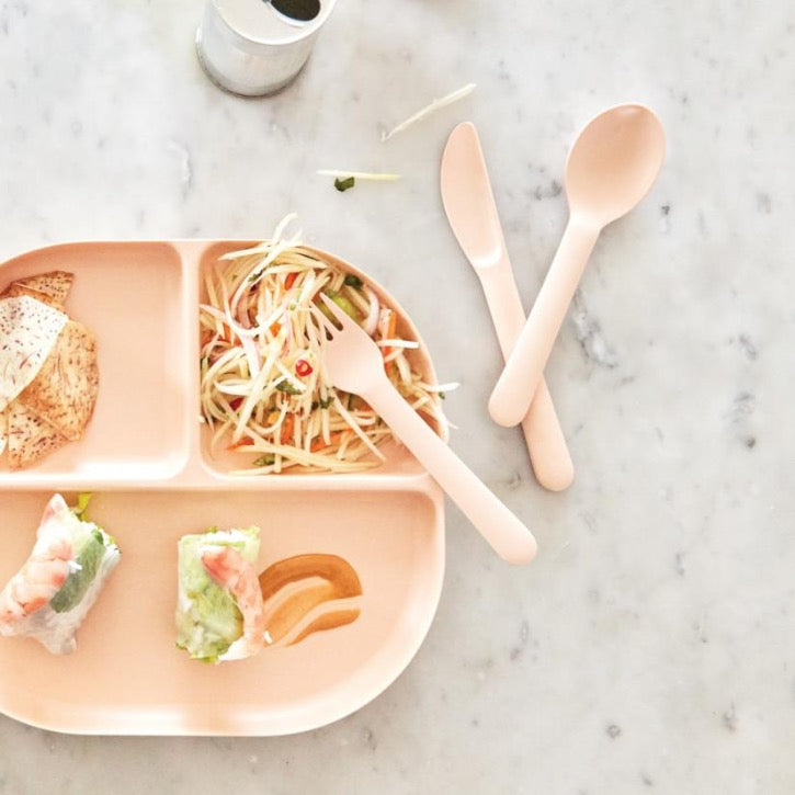 EKOBO Kids Cutlery Set - Blush