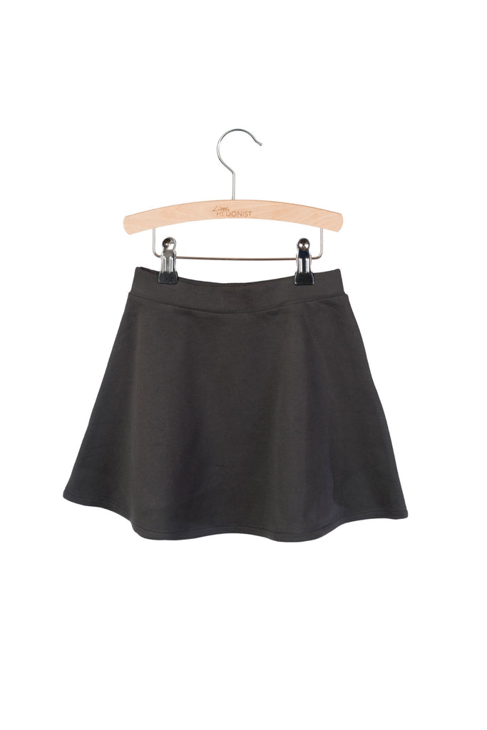 Little Hedonist Mesa Pleated Skirt - Pirate Black